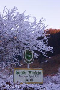 Gasthof Mairhofer Winterstimmung