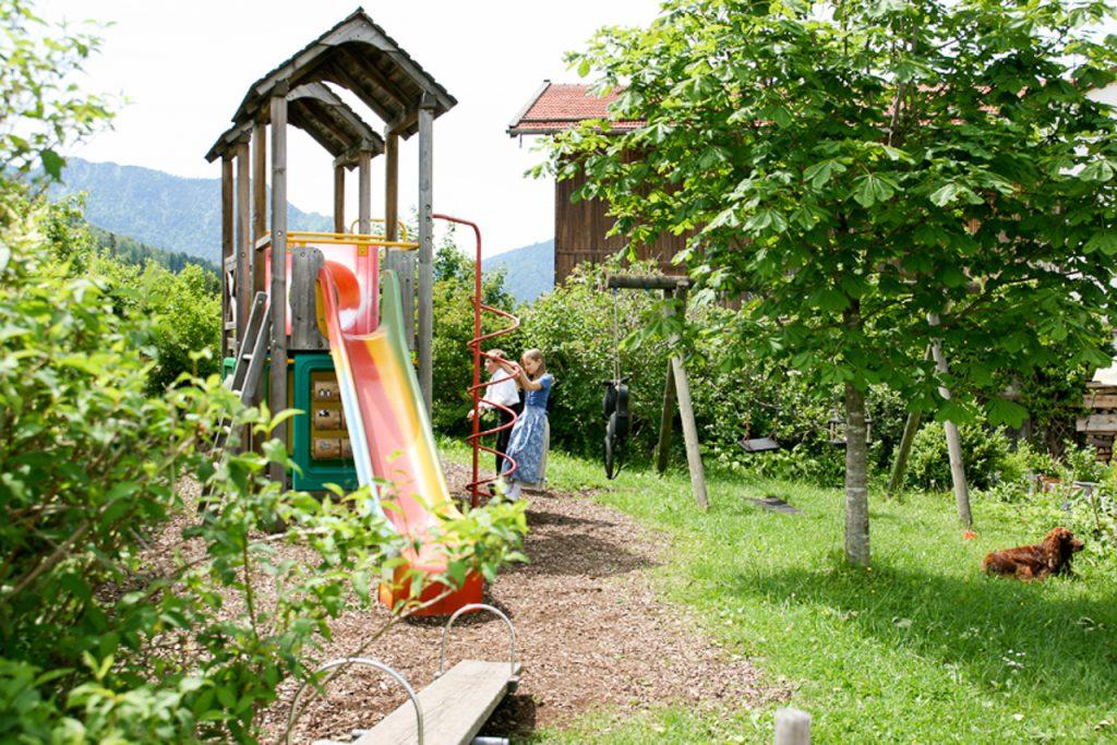 Gasthof Mairhofer Aurach Spielplatz